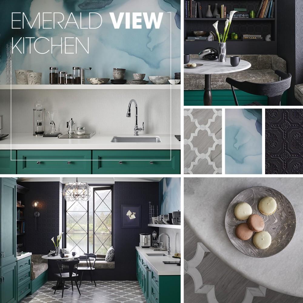 Emerald View Kitchen