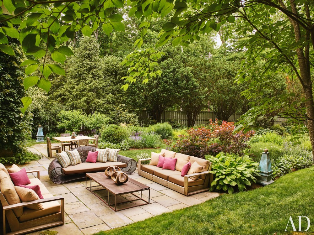 Outdoor Space and Janson Goldstein in Bedford, NY