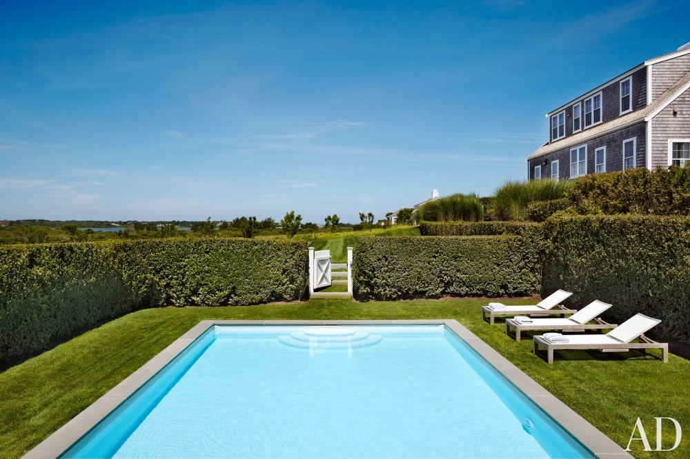 Beach Pool by Victoria Hagen and Botticelli & Pohl Architects in Nantucket, MA