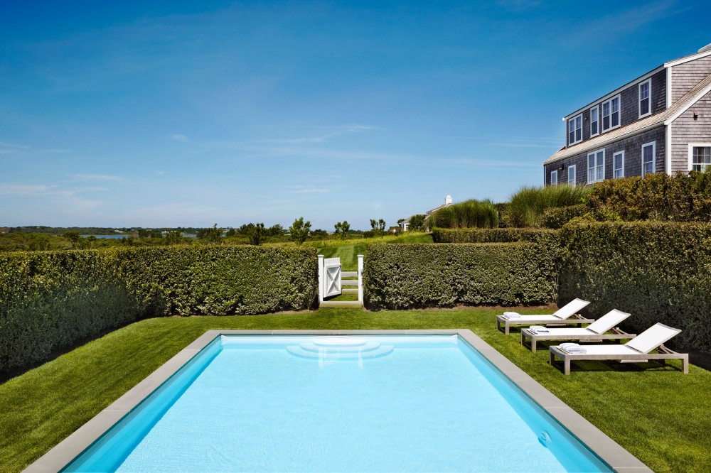 Beach pool by victoria hagen by architectural digest ad for Michaels crafts locations ma