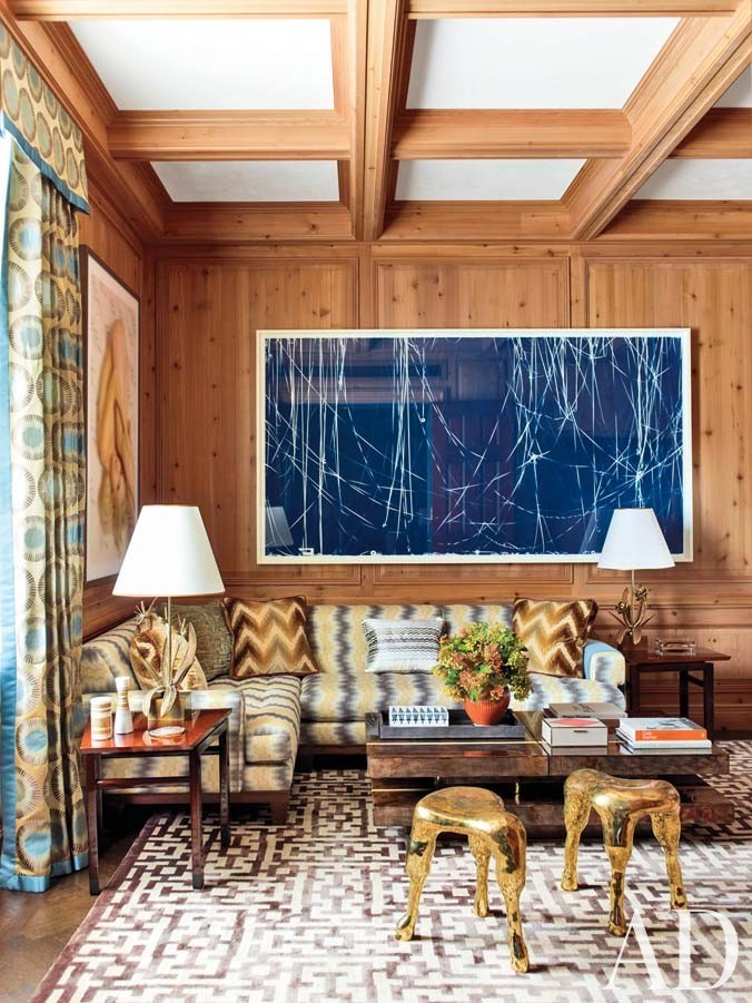 Traditional Office/Library by Steven Gambrel in New York, NY