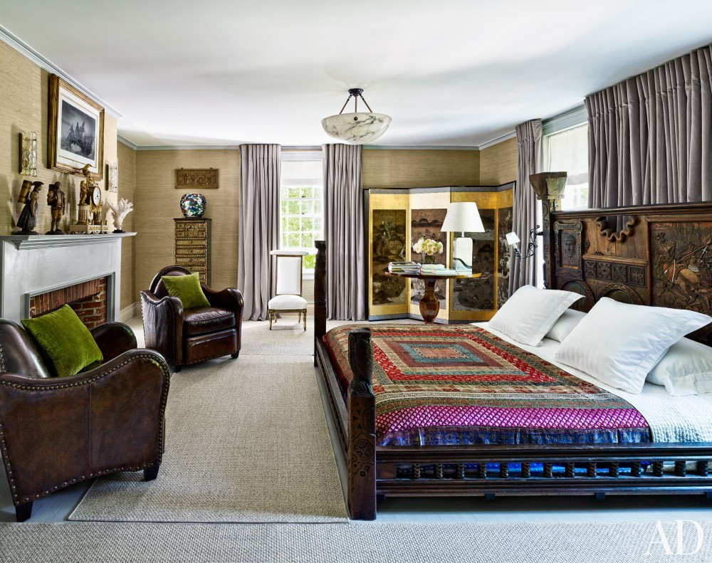 Traditional Bedroom by D\'Aquino Monaco and D\'Aquino Monaco in Hudson River Valley, NY