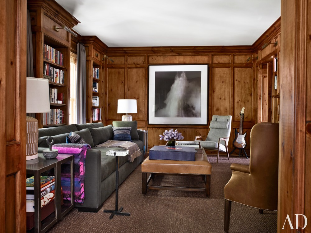 Office/Library by Mark Cunningham in Northwestern Connecticut