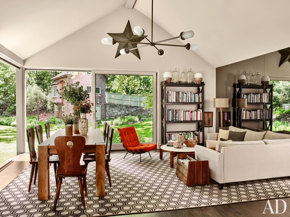 Dining Room and Janson Goldstein in Bedford, NY