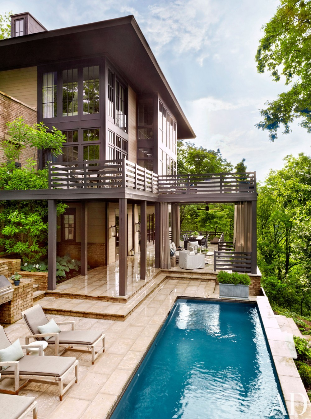 Modern Pool by Ray Booth in Nashville, TN