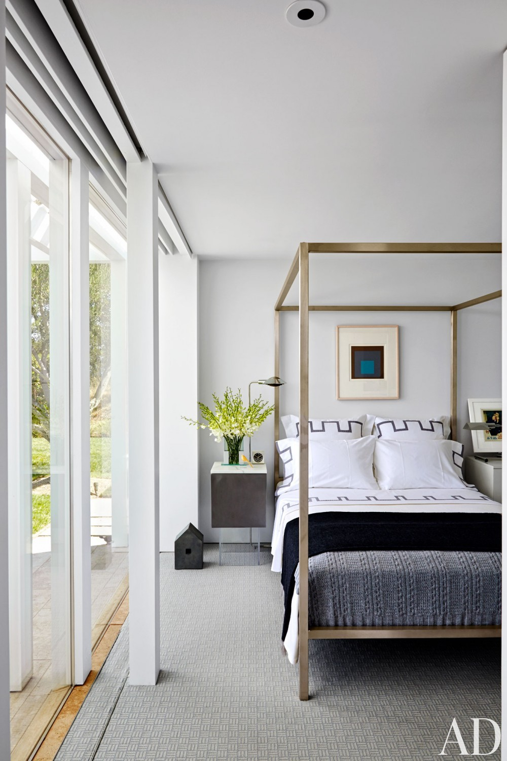 Contemporary Bedroom by Jeff Atlas and Jacobsen Architecture in Napa Valley, CA