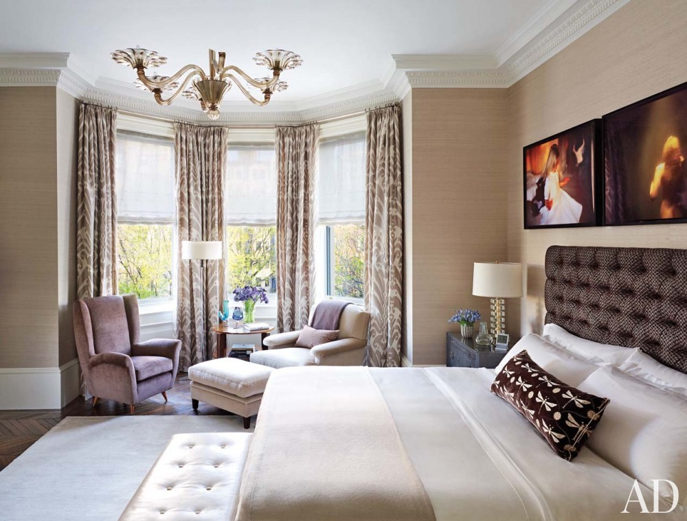 Modern Bedroom by Wells & Fox and Dell Mitchell in Boston, MA