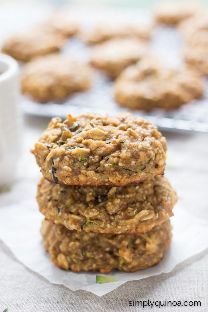 Zucchini Bread Quinoa Breakfast Cookies by Alyssa Rimmer | Epicurious ...