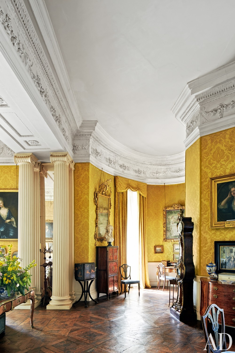 Traditional Living Room in County Offaly, Ireland