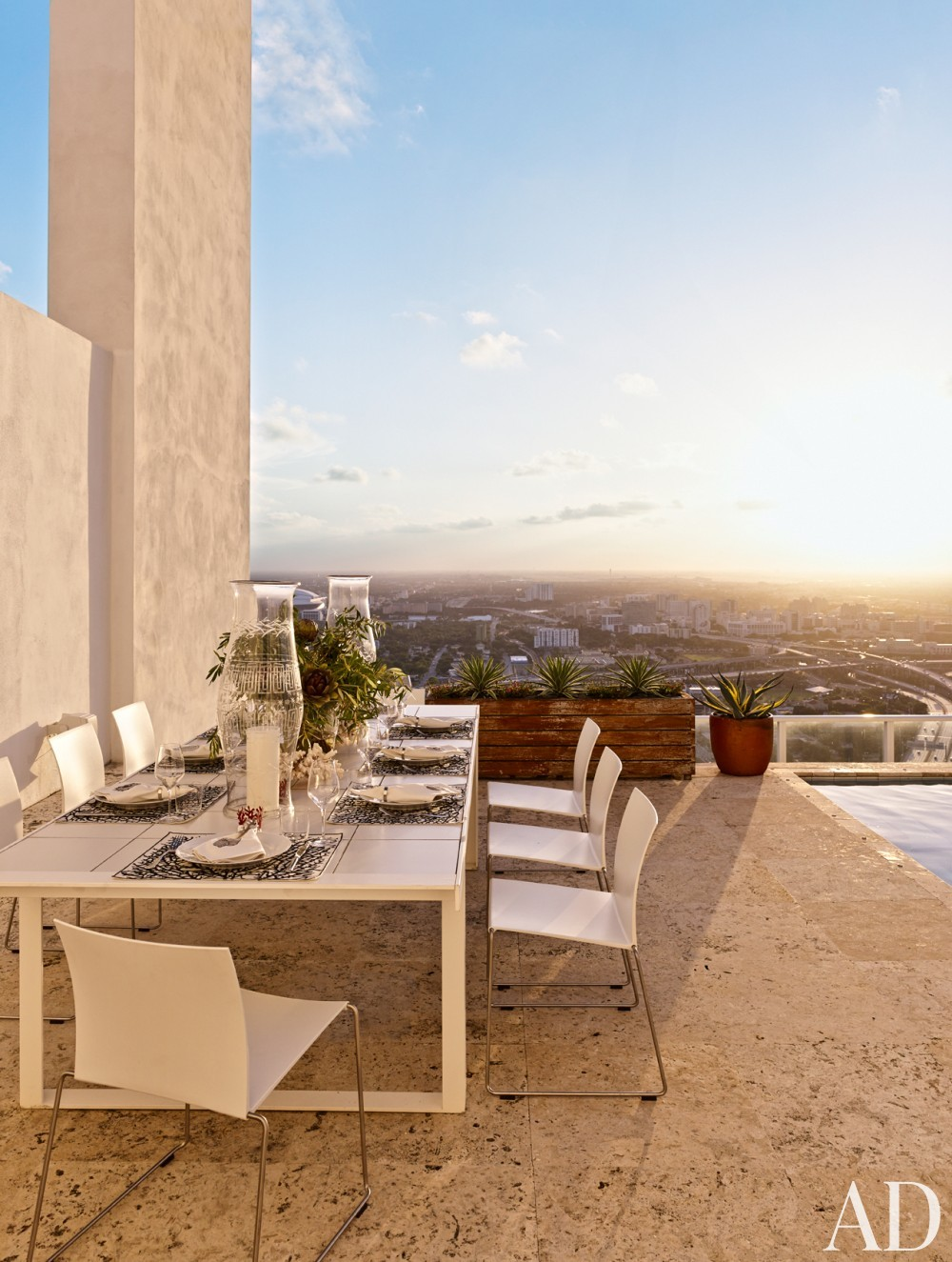 Outdoor Space and Chad Oppenheim in Miami, FL