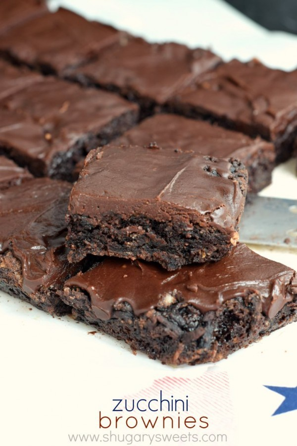 Chocolate Zucchini Brownies by Shugary Sweets | Epicurious Community ...