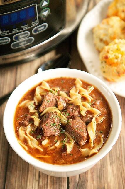 Slow Cooker Steak Soup By Stephanie Parker Epicurious