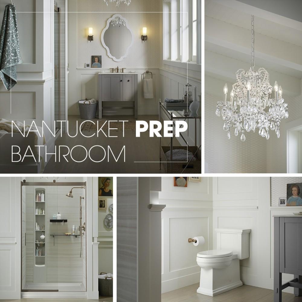 Nantucket Prep Bathroom
