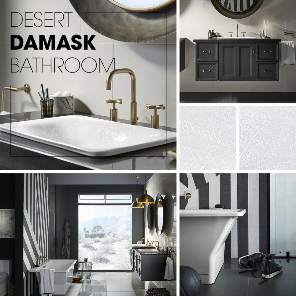 Desert Damask Bathroom | Kohler Ideas