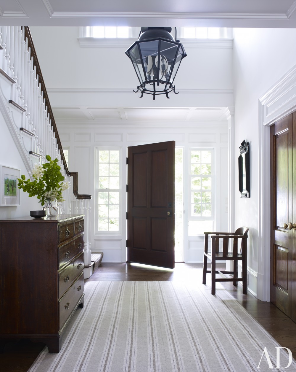 Entrance Hall by Mark Cunningham in Northwestern Connecticut
