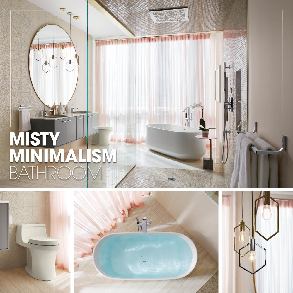 Mood Boards About Contemporary Bathrooms | Kohler