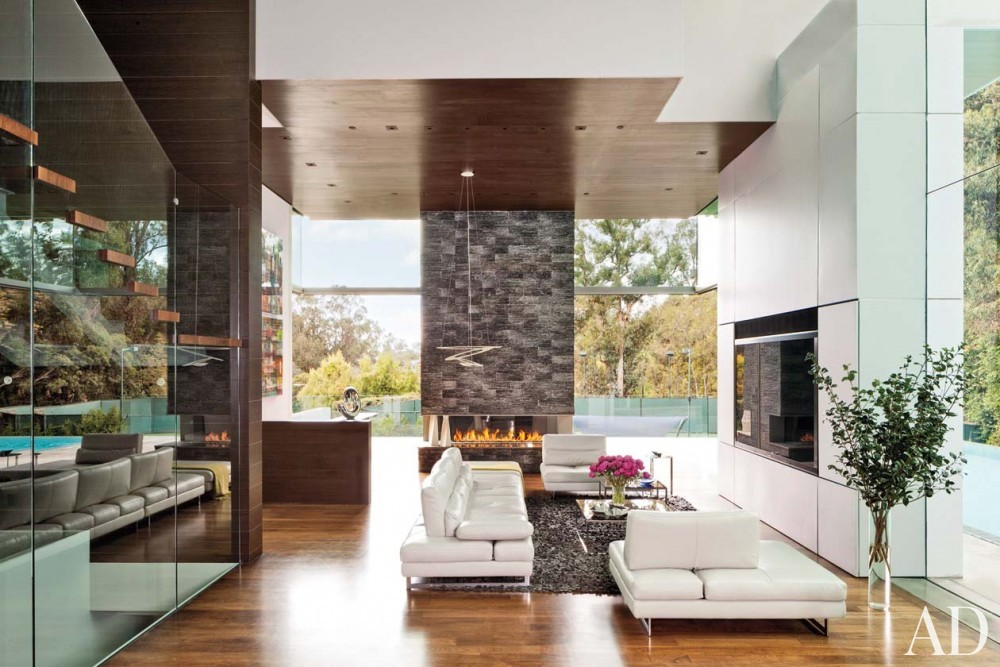 Contemporary Living Room by Tocha Project and Marc Whipple in Beverly Hills, CA