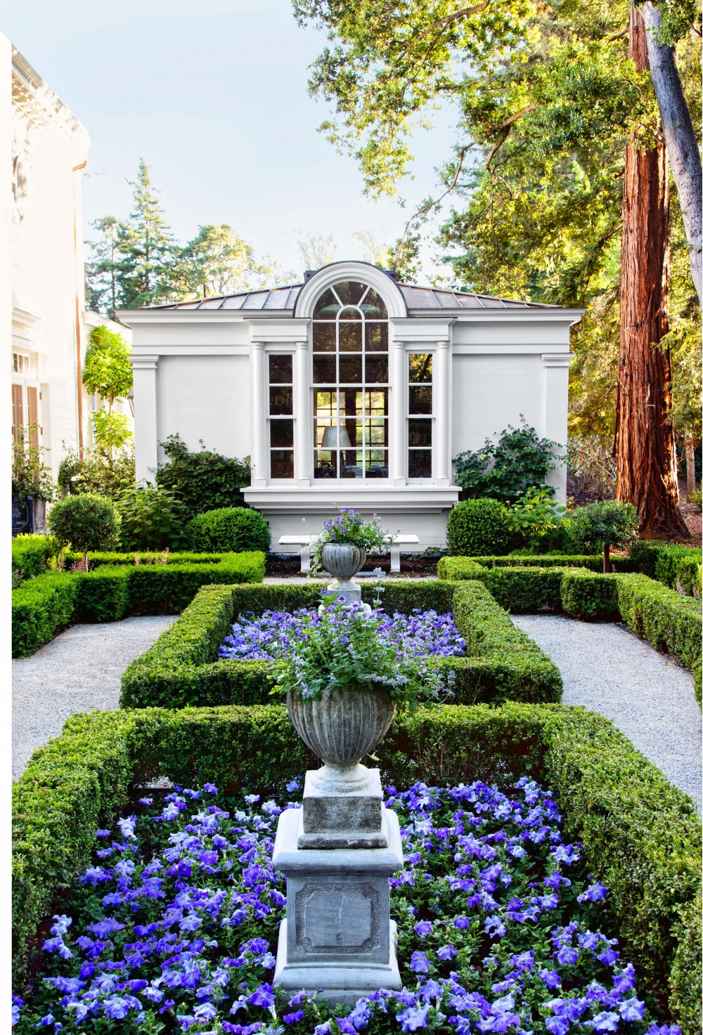 Traditional Garden by Miles Redd by Architectural Digest