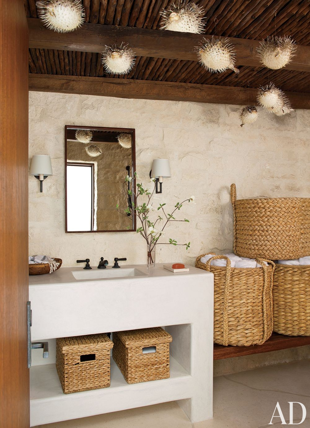Beach Bathroom By Atelier Am By Architectural Digest Ad