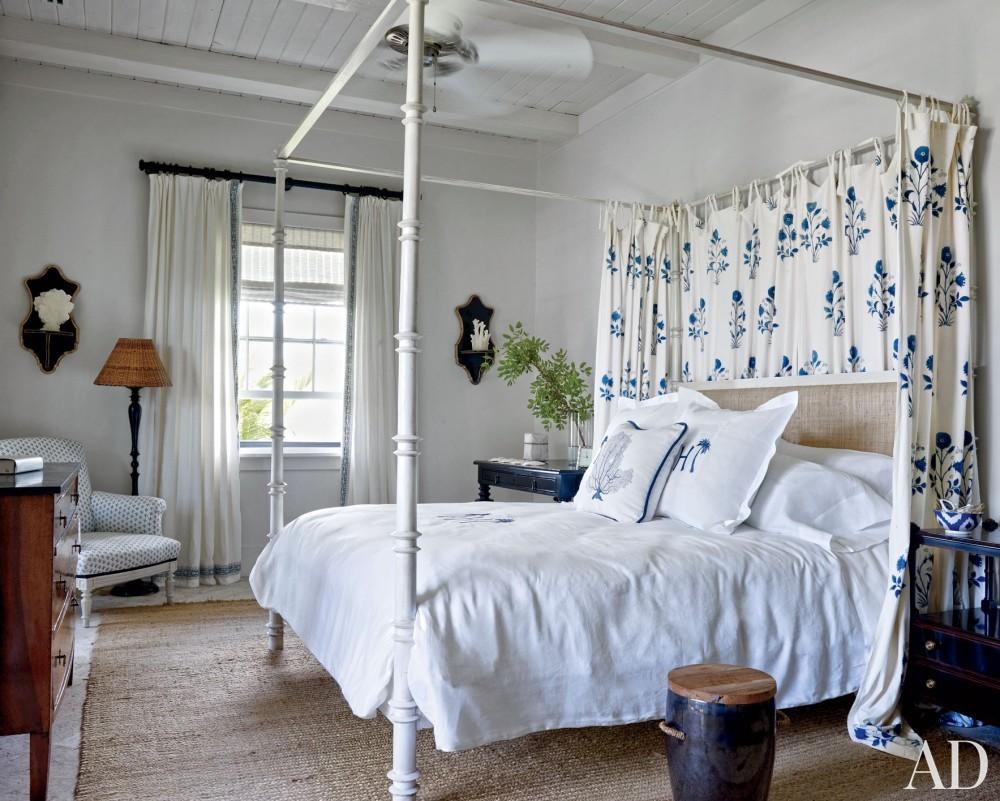 Beach Bedroom by Alessandra Branca in Harbour Island, Bahamas