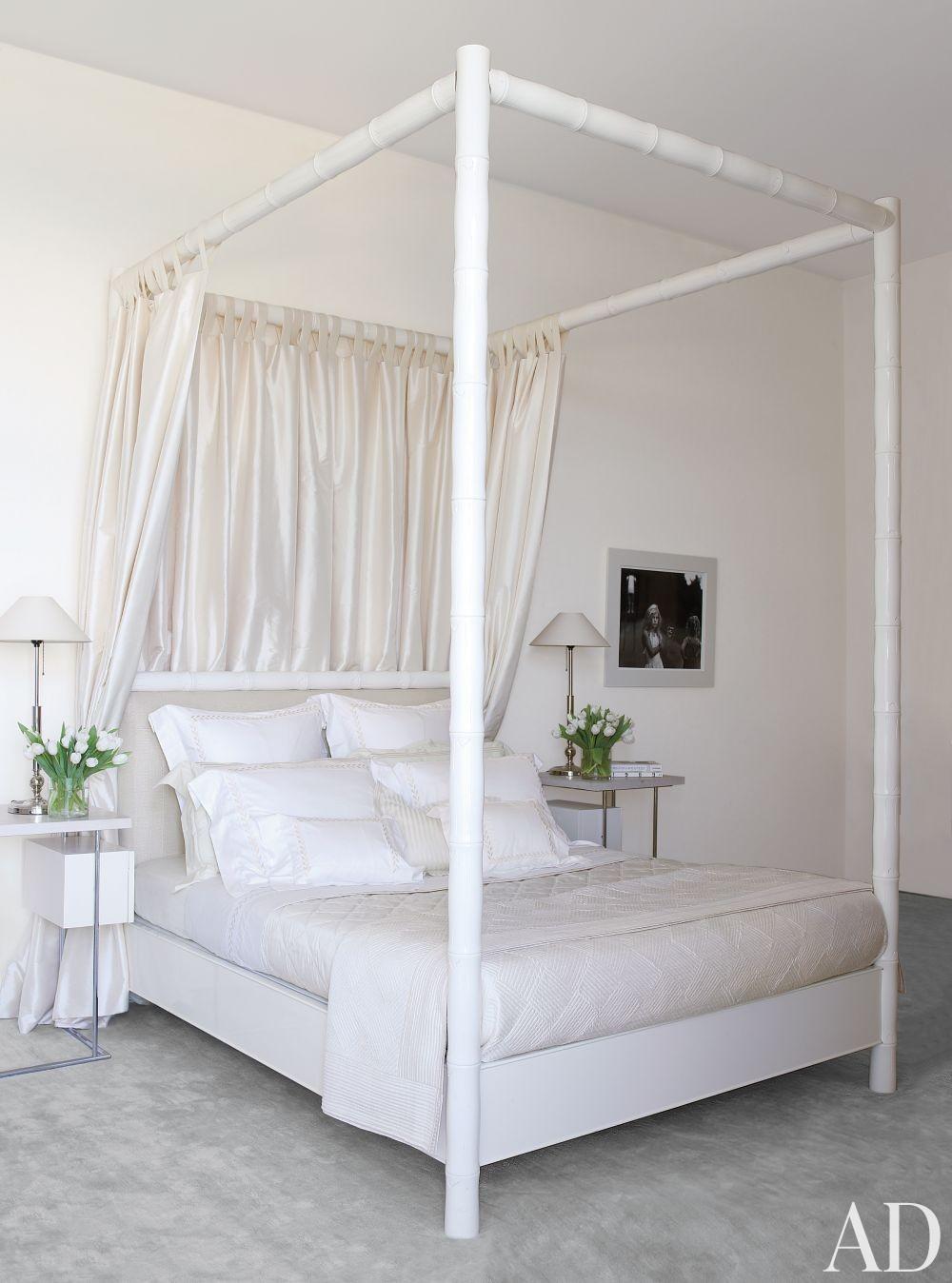 Beach Bedroom by Aman & Carson in Palm Beach, Florida