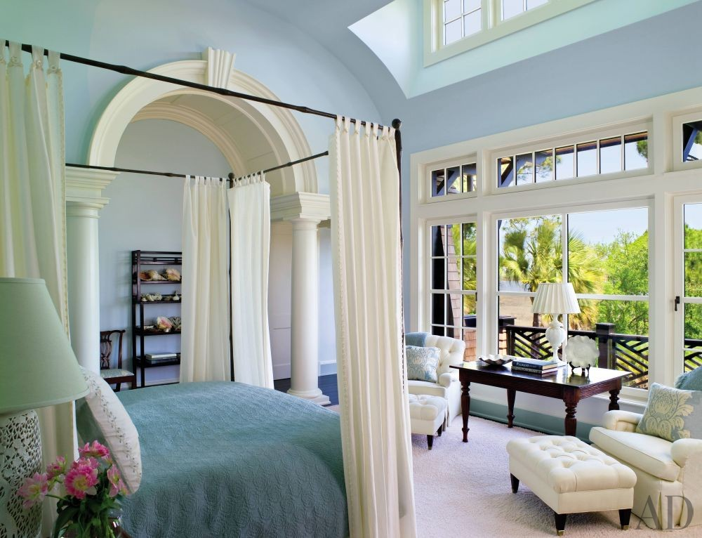 Beach Bedroom by Jacquelynne P Lanham by Architectural
