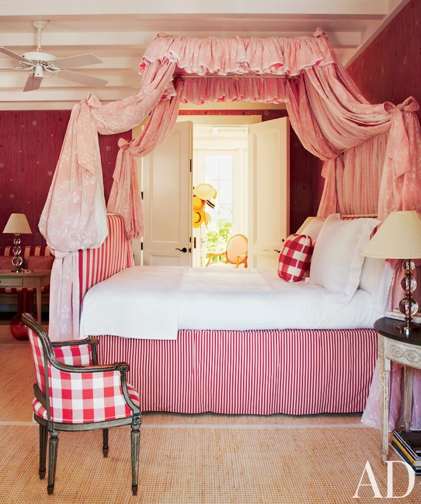 Beach Bedroom by John Stefanidis Brands Ltd. and Clemens Bruns Schaub Architect & Associates in Windsor, Florida