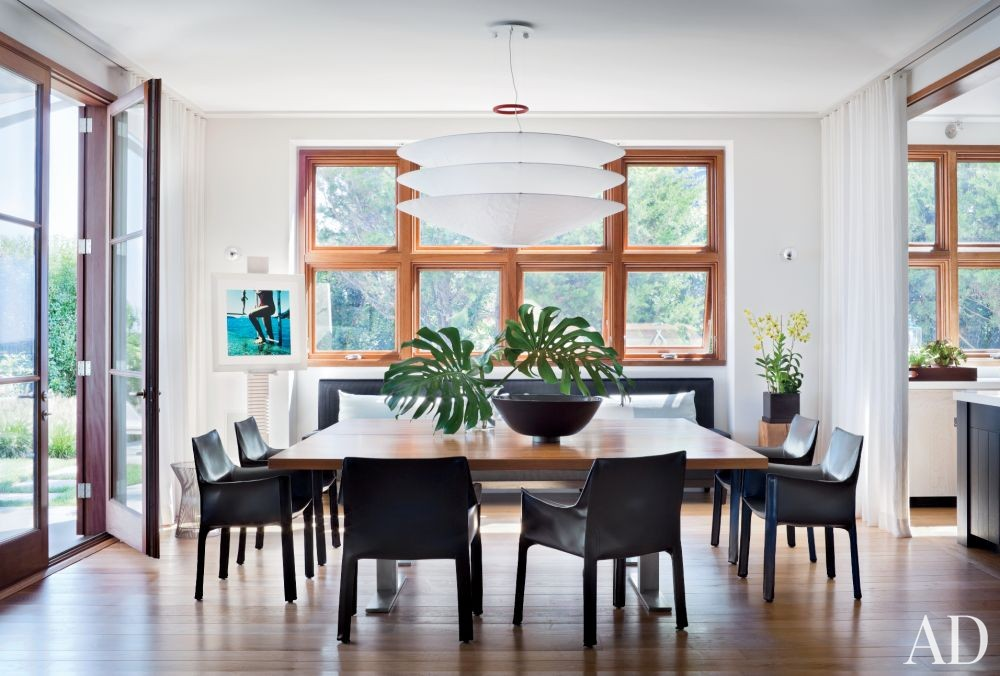 Beach Dining Room by Foley & Cox and Frank Greenwald in Sag Harbor, New York
