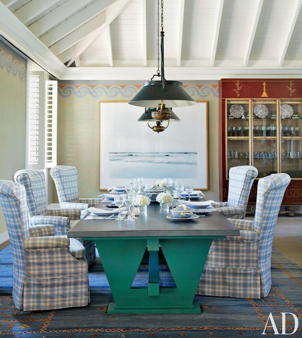 Beach Dining Room by John Stefanidis Brands Ltd. and Clemens Bruns Schaub Architect & Associates in Windsor, Florida