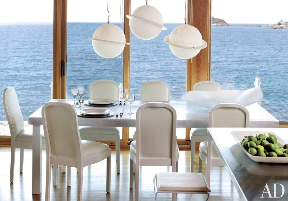 Beach Dining Room by Martha Sturdy in British Columbia, Canada