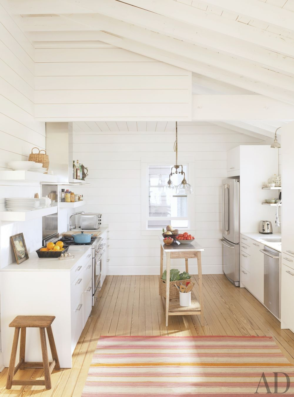 Beach Kitchen by Amelia T. Handegan and Stumphouse Architecture + Design and Glenn Keyes Architects in Folly Beach, South Carolina