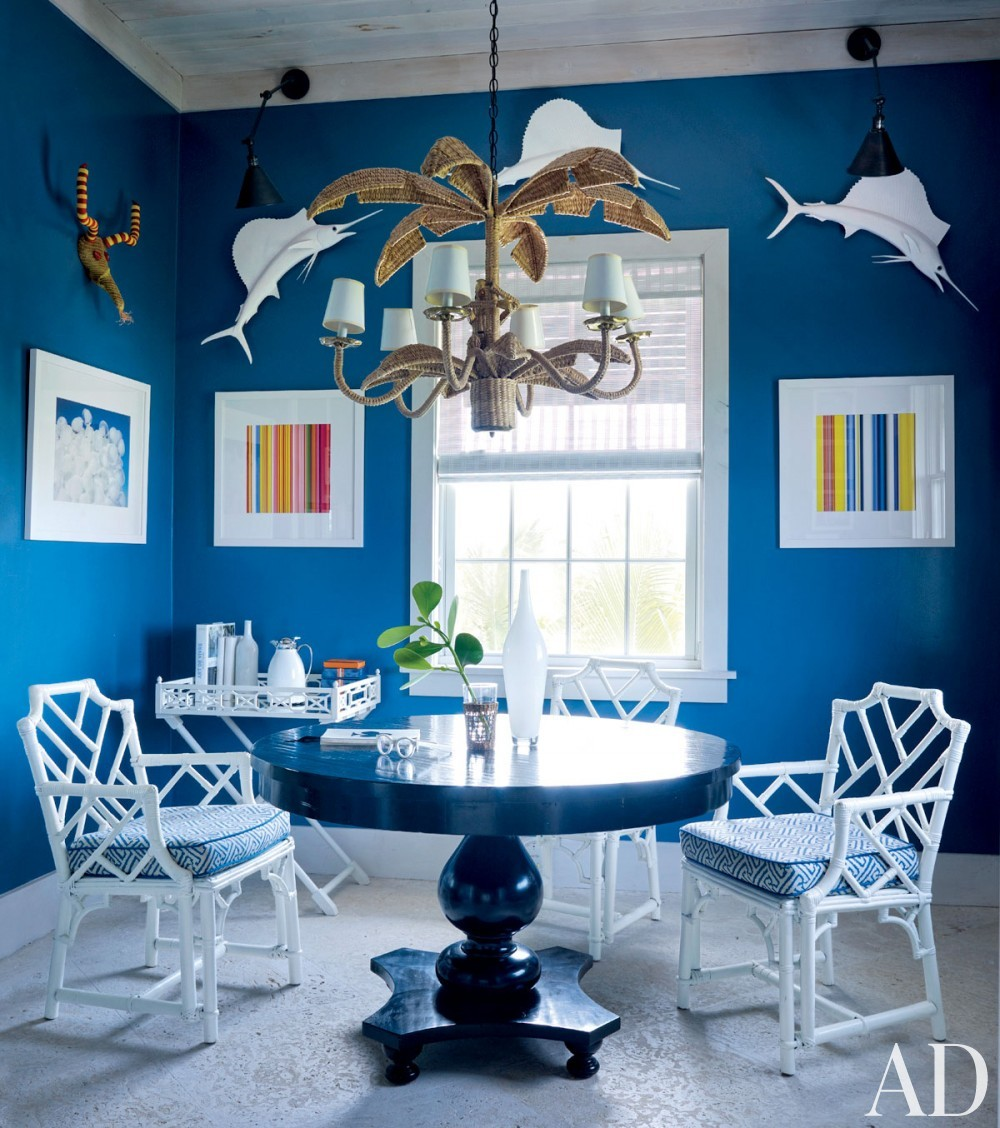 Beach Living Room by Alessandra Branca in Harbour Island, Bahamas