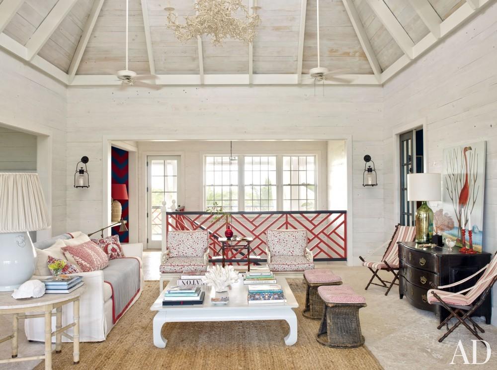 Beach Living Room by Alessandra Branca in Harbour Island, Bahamas