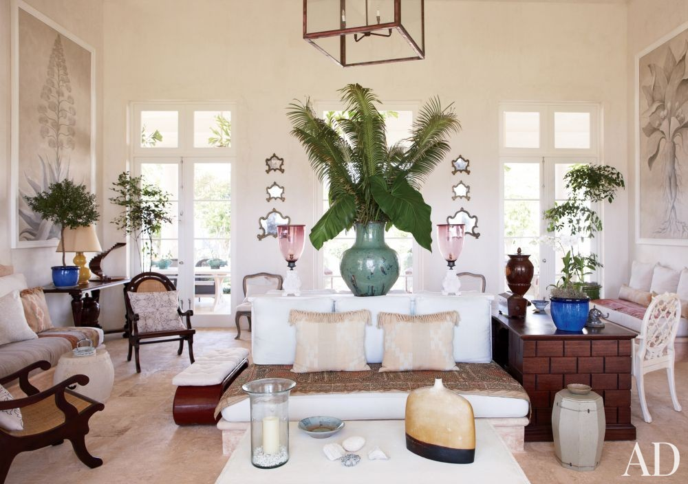 Beach Living Room by Genevieve Faure in Dominican Republic