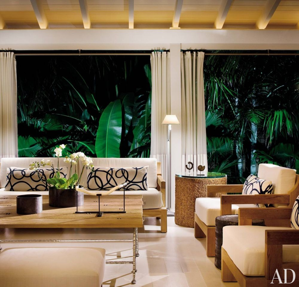 Beach Living Room by Stephen Knollenberg in Key West, Florida