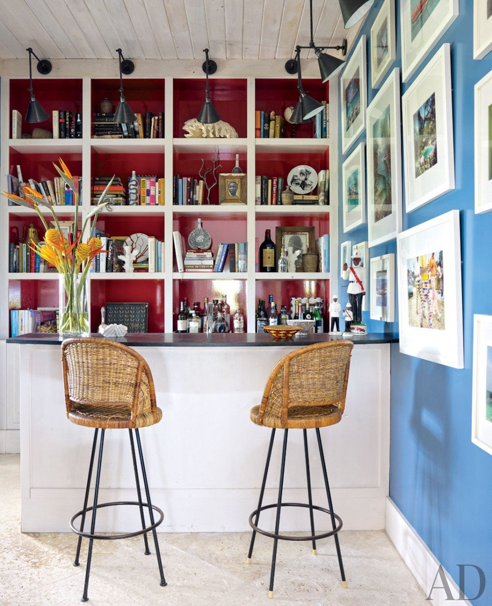 Beach Media/Game Room by Alessandra Branca in Harbour Island, Bahamas