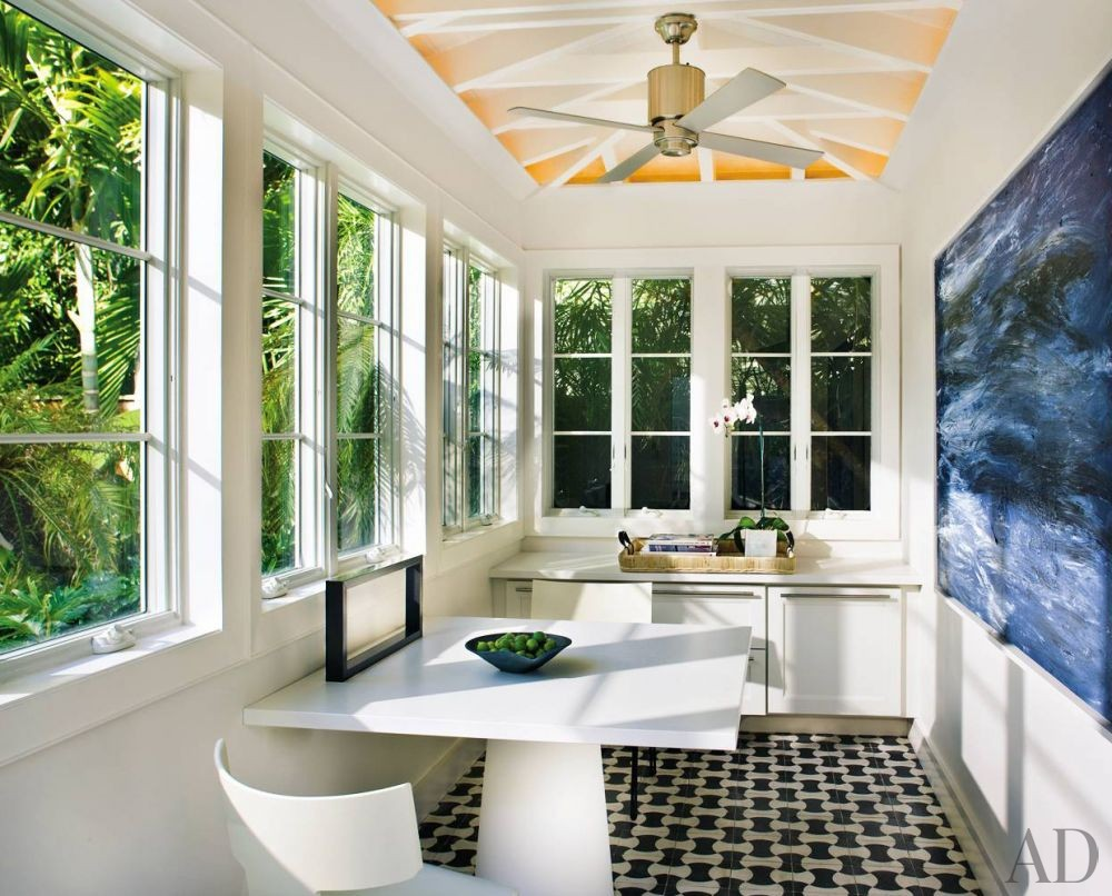 Beach Office/Library by Stephen Knollenberg in Key West, Florida