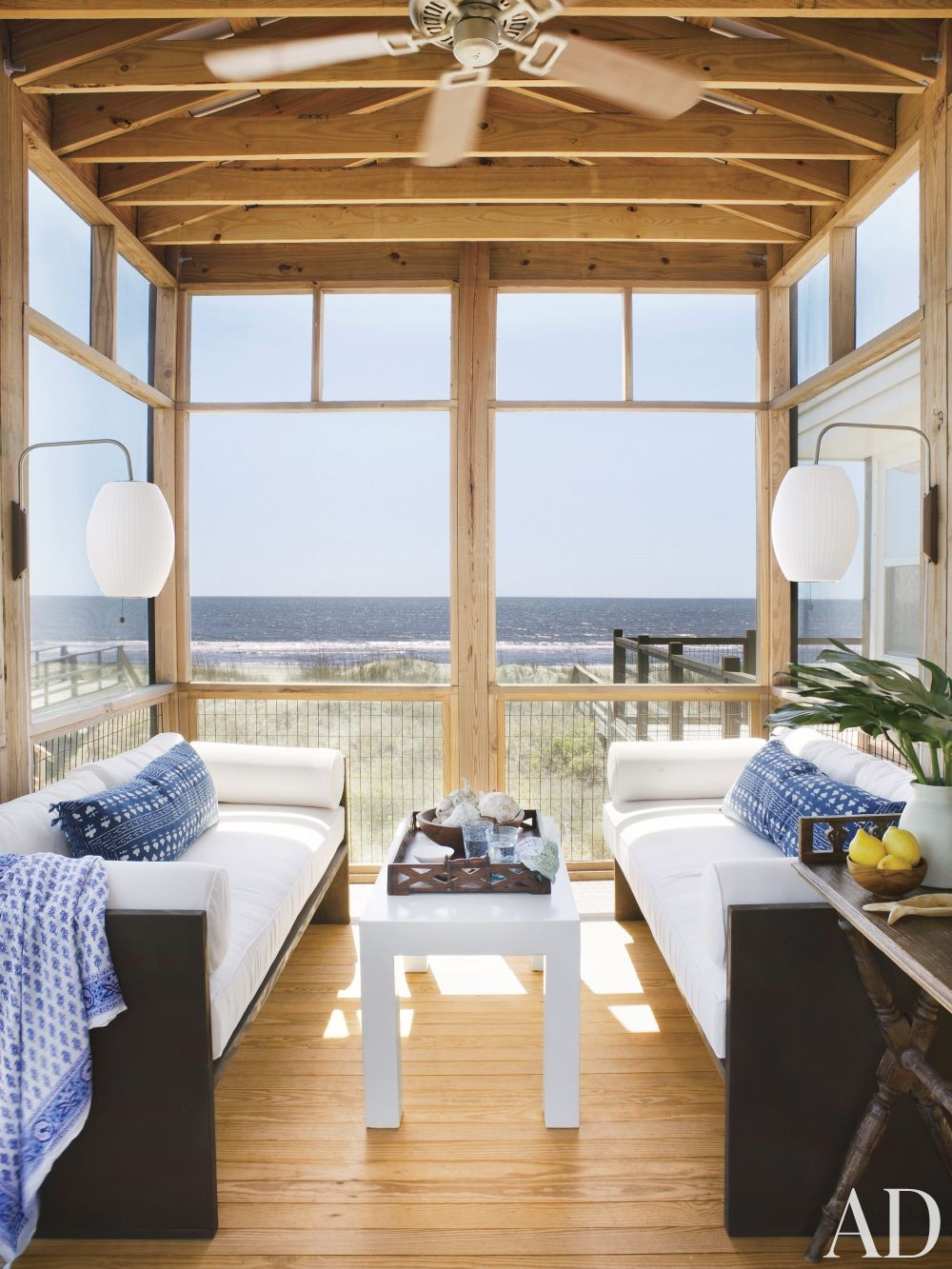 Beach Outdoor Space by Amelia T. Handegan and Stumphouse Architecture + Design and Glenn Keyes Architects in Folly Beach, South Carolina
