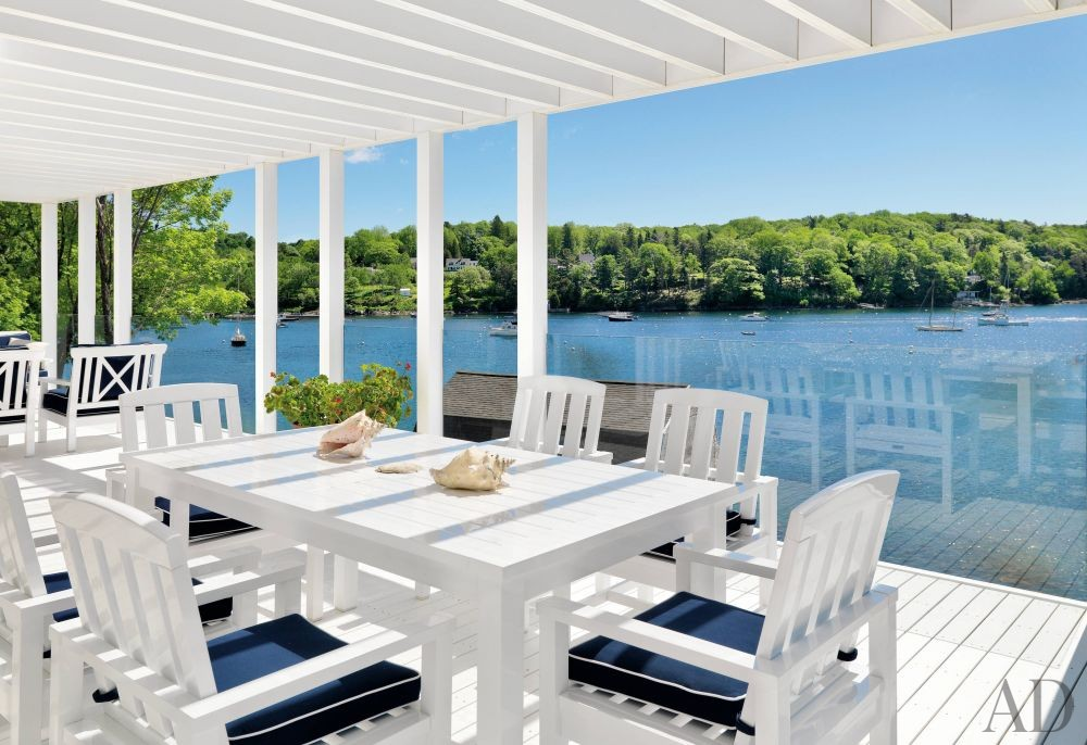 Beach Outdoor Space by Jacobsen Architecture and Jacobsen Architecture in Rockport, Maine