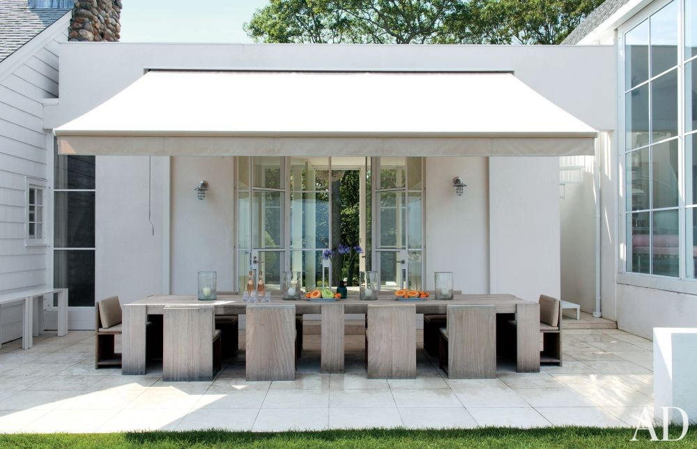 Beach Outdoor Space by Philip Galanes and Michael Haverland Architect in Shelter Island, New York