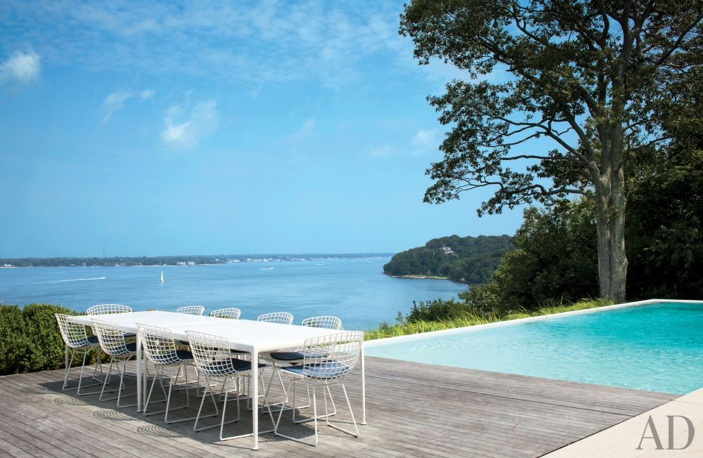 Beach Pool by Philip Galanes and Michael Haverland Architect in Shelter Island, New York