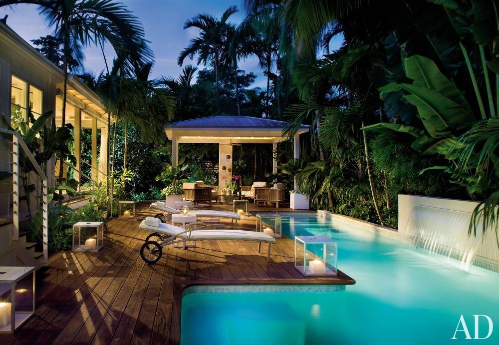 Beach Pool by Stephen Knollenberg in Key West, Florida