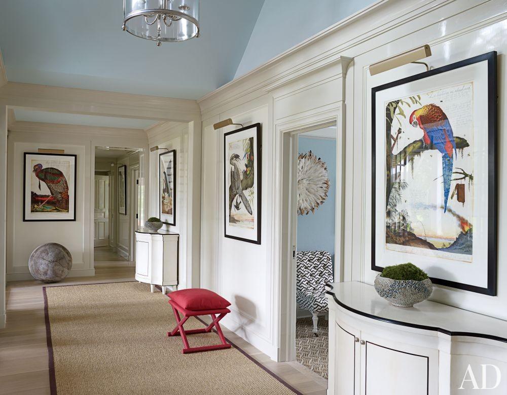Beach Staircase/Hallway by Christopher Maya and Marina Lanina Studio in Southampton, New York