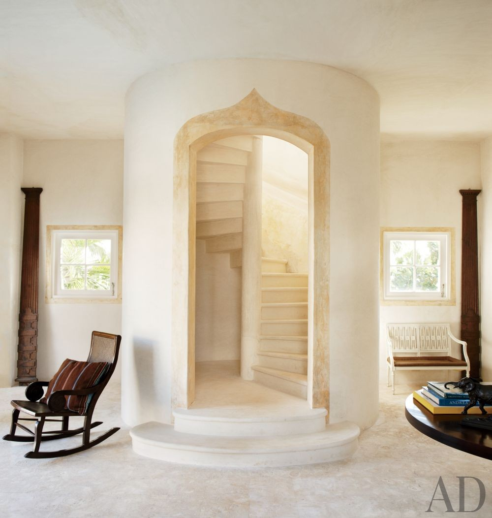 Beach Staircase/Hallway by Genevieve Faure in Dominican Republic