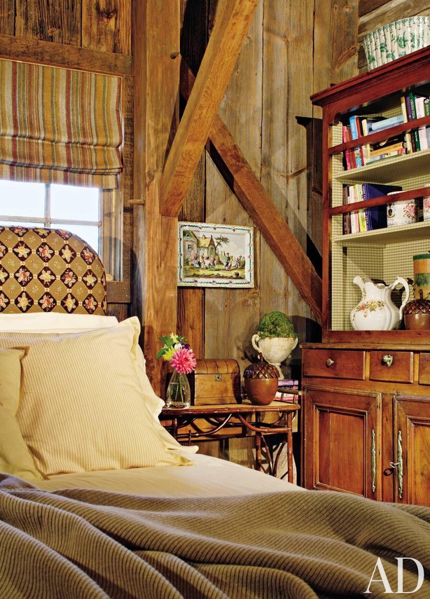 Bedroom by Penny Drue Baird and Irwin Weiner in Bucks County, Pennsylvania