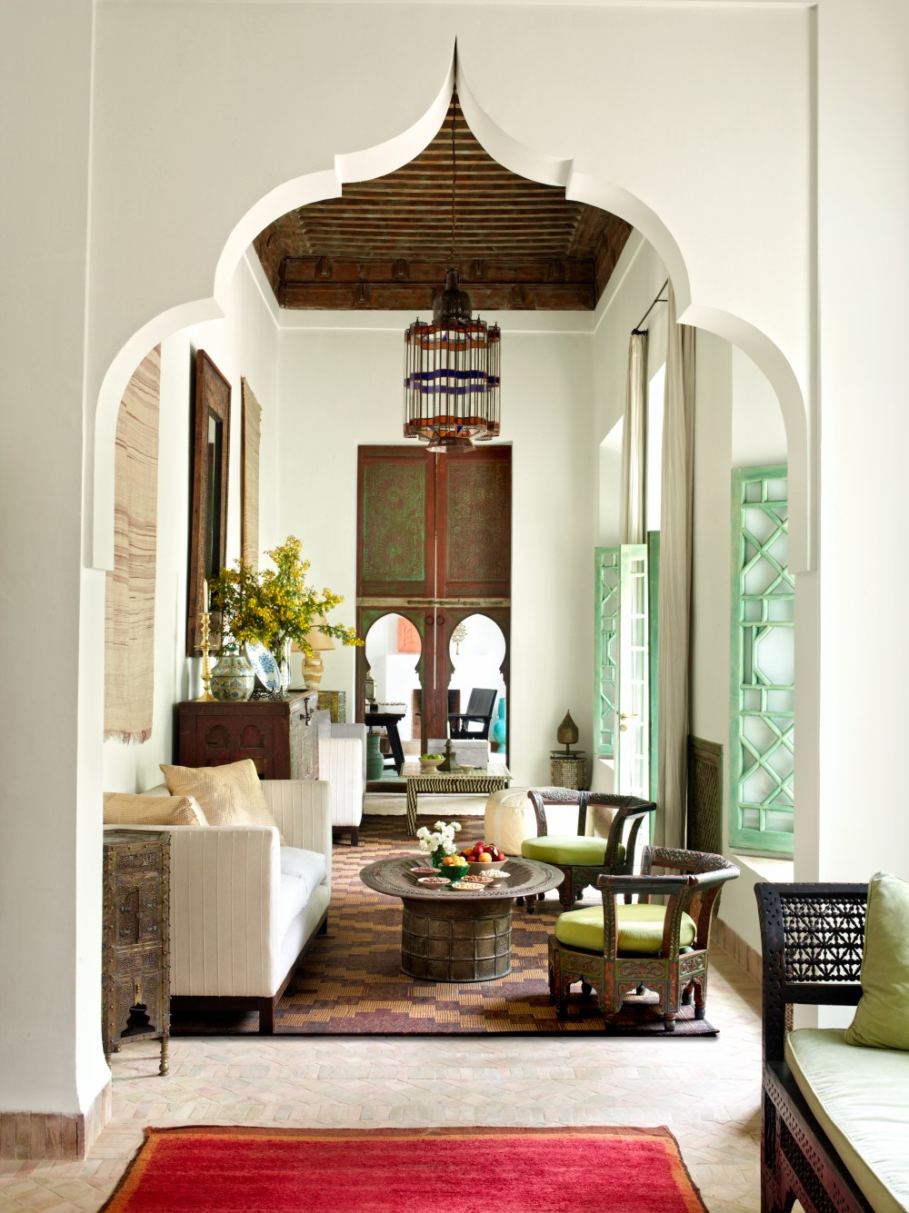 Moroccan Decoration Living Room: Exotic Living Room By Ahmad Sardar-Afkhami By
