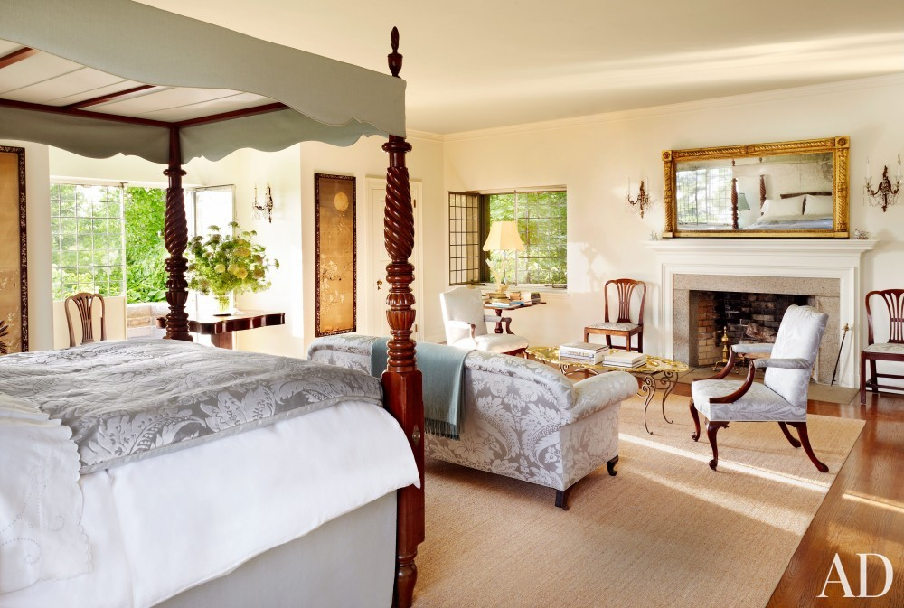 Traditional Bedroom by Martha Stewart and Duncan Candler in Mount Desert Island, ME