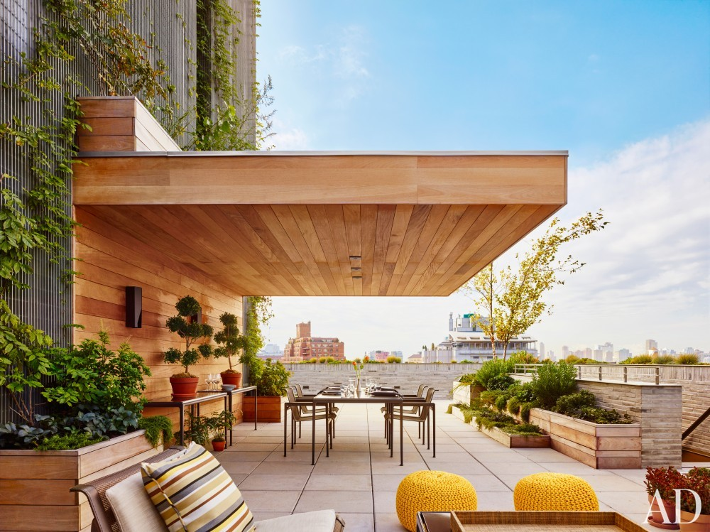 Outdoor Space by Dufner Heighes in New York, NY