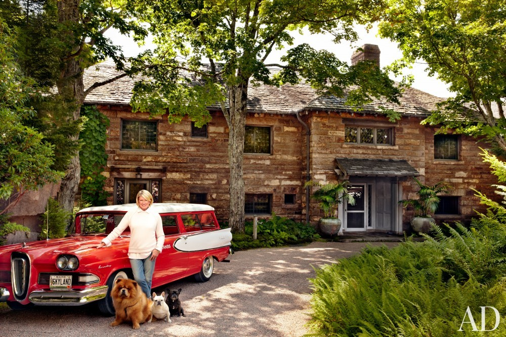Traditional Exterior by Martha Stewart and Duncan Candler in Mount Desert Island, ME