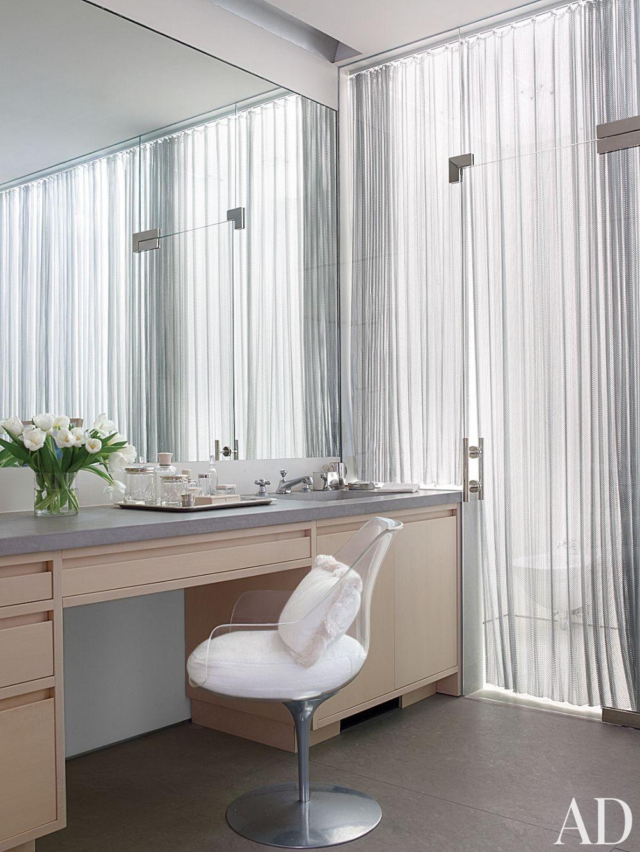 Contemporary Bathroom by Aman & Carson in Palm Beach, Florida